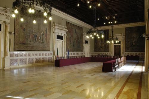 La sala della regina for Camera dei deputati roma