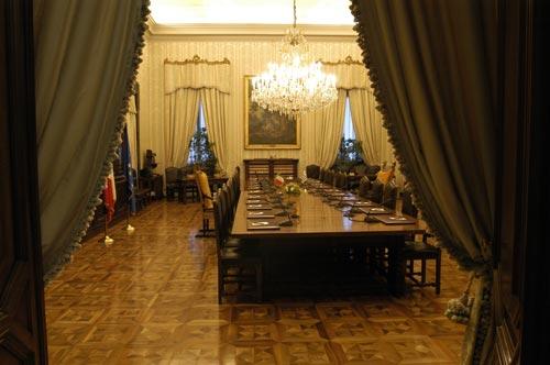 La biblioteca del presidente for Biblioteca camera dei deputati