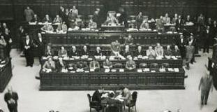 La camera dei deputati legislature precedenti for Camera dei deputati composizione